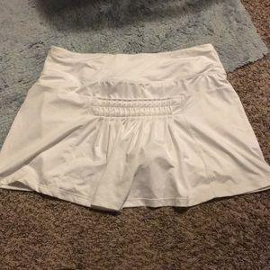 Pants - White skirt/short
